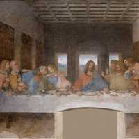 The Last Supper painting in Milan