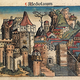 Woodcut of Milan in 1493