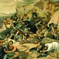 Gothic Battle of Mons Lactarius