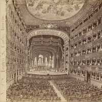 Interior of Teatro San Carlo