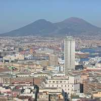 View of Central Naples
