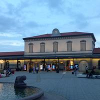 Bergamo FS railway station in Italy