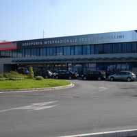 Federico Fellini International Airport in Rimini, Italy
