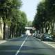 Via Appia in Velletri in Italy