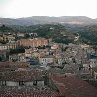 View of the Old Town in Cosenza, Italy