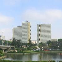Panoramic View of EUR Business district