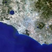 Rome as seen from Satellite