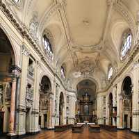Inside the Cathedral of Turin
