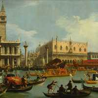 18th Century View of Venice