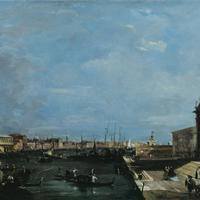 View of the Grand Canal in 1760