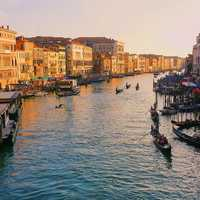 Grand Canal of Venice in Modern Times