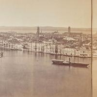 Panoramic of Venice in 1870