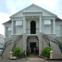 Mandeville Courthouse in Jamaica