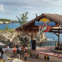 Rick's Cafe Shack on the Beach in Negril, Jamaica