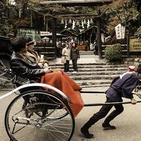 Rickshaw Ride in Kyoto, Japan