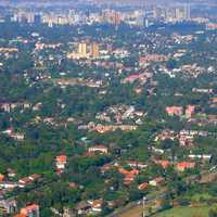 Aerial View of Nairobi Cityscape in Kenya