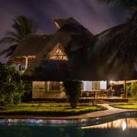 Holiday House and pool in Kenya, Africa