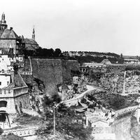 Fortress of Luxembourg  before 1867 demolition