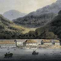 George Town in 1811, Panoramic View in Malaysia