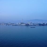 Looking at George Town in Penang, Malaysia