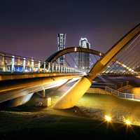 Night Shot and Bridge at Putrajaya 1 in Malaysia