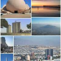 Collage of Tijuana, Baja California, Mexico