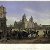 General Scott's entrance into Mexico City, 1851