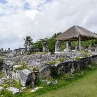 Ruins and Ancient Structures in Cancun, Mexico