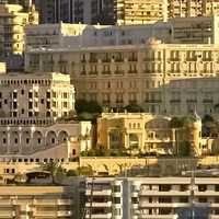 Buildings Closeup in Monaco