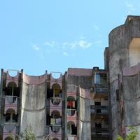Architecture of buildings and apartments in Montenegro