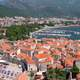 Panorama of Budva in Montenegro