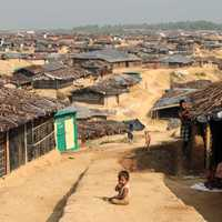 Kutupalong Refugee Camp in Myanmar