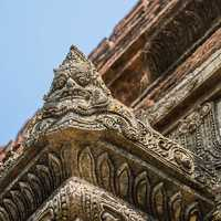 Corner of an ancient Pagoda