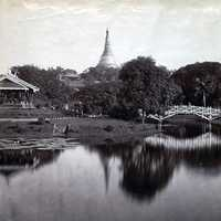 Cantonment Gardens photo in 1868