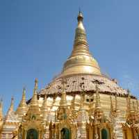 Shwe Dagon Pagoda Golden Top
