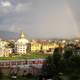 Rainbow Arcing over Kathmandu, Nepal