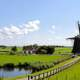 Friesland landscape in the Netherlands
