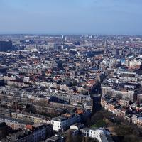 Daytime Cityscape View of The Hague, Netherlands