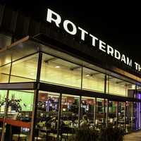 Rotterdam Airport in The Hague, Netherlands