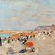 Beach of Utrecht Painting in 1910