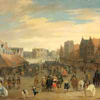 Prince Maurits in Utrecht, 31 July 1618 in the Netherlands