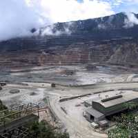 Ok Tedi Mine in southwestern Papua New Guinea
