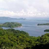 Yos Sudarso Bay landscape in New Guinea