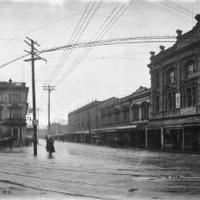 High, Manchester and Lichfield Streets in Christchurch, 1923 in New Zealand