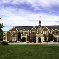 Ivey Hall at Lincoln University in Christchurch, New Zealand