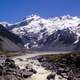 Southern Alps Range in New Zealand