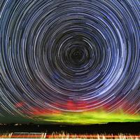 Spinning Star Trails in New Zealand