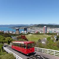 Cable Car from Willington Harbor, New Zealand