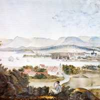Christiania in 1814