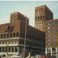 Olso City Hall in 1991